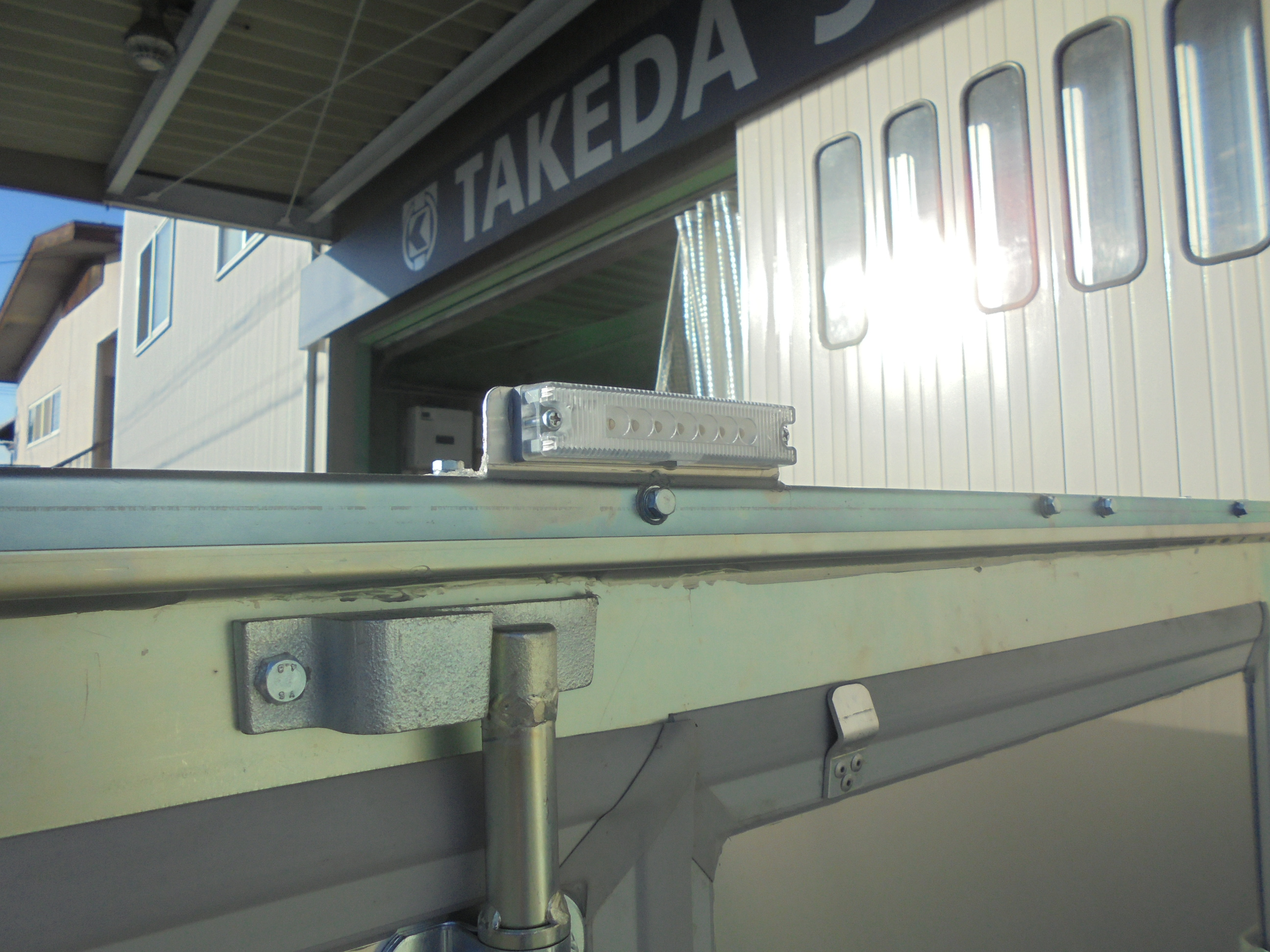 アルミパネル式Aタイプ 天井アルミトップ