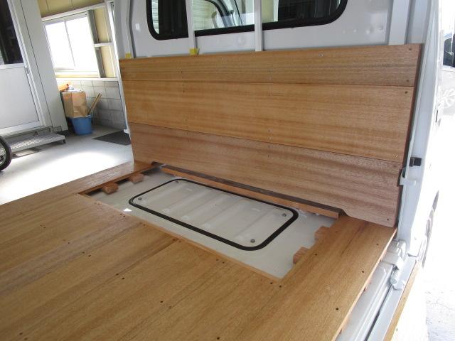 荷台5面板張り